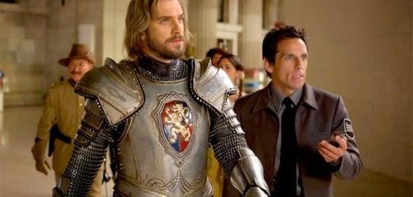 Ben Stiller e Robin Williams nas primeiras imagens de Uma Noite no Museu 3