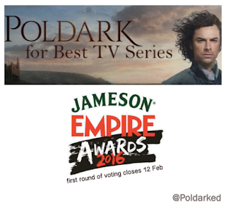 Poldark, Jameson Empire Awards, Best TV Series