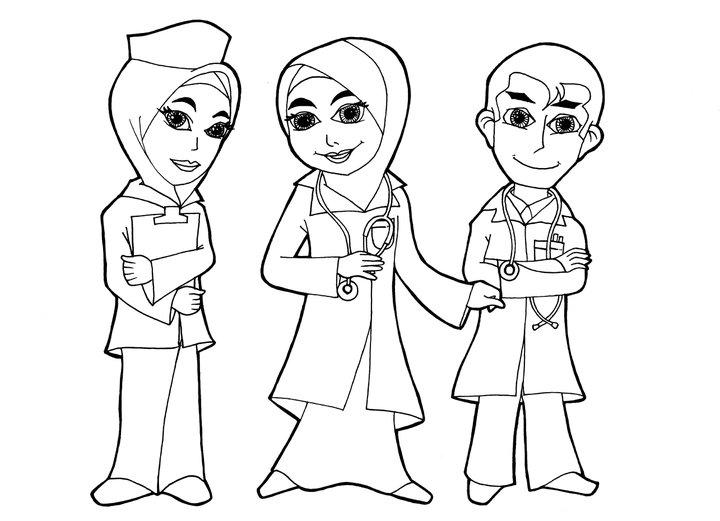 Hospital Nurse Clip Art