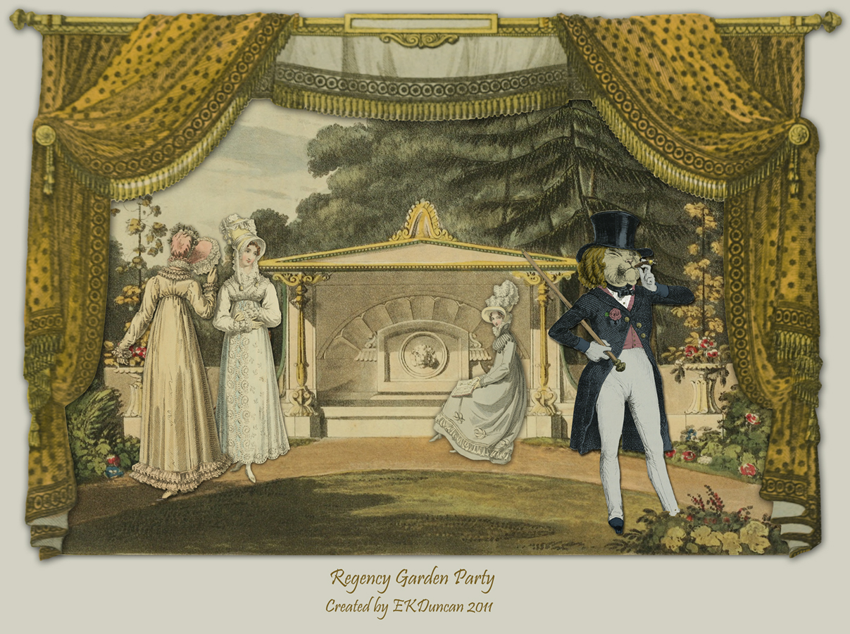EKDuncan - My Fanciful Muse: Regency Garden Party with a Roaring Rogue