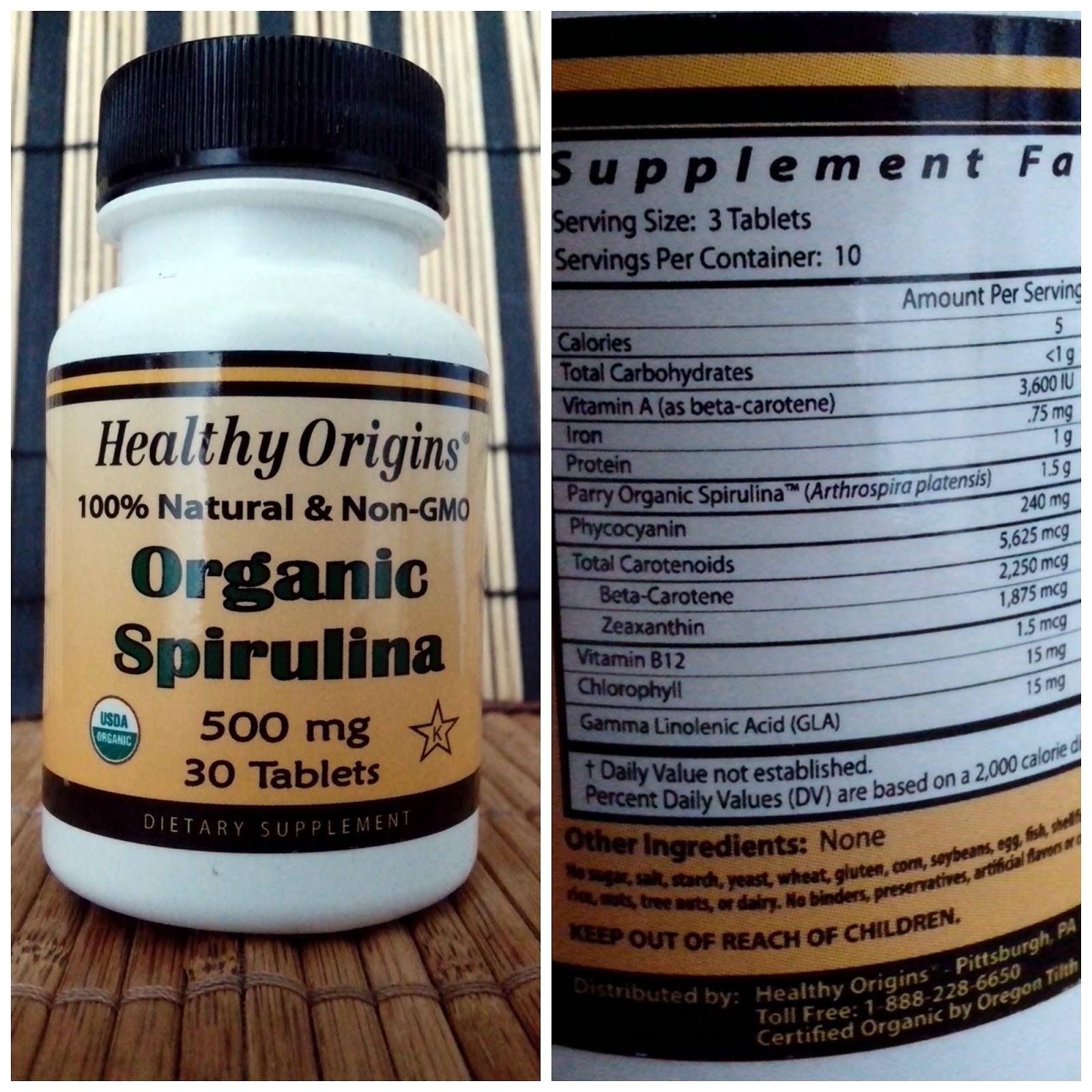 spirulina iherb espirulina