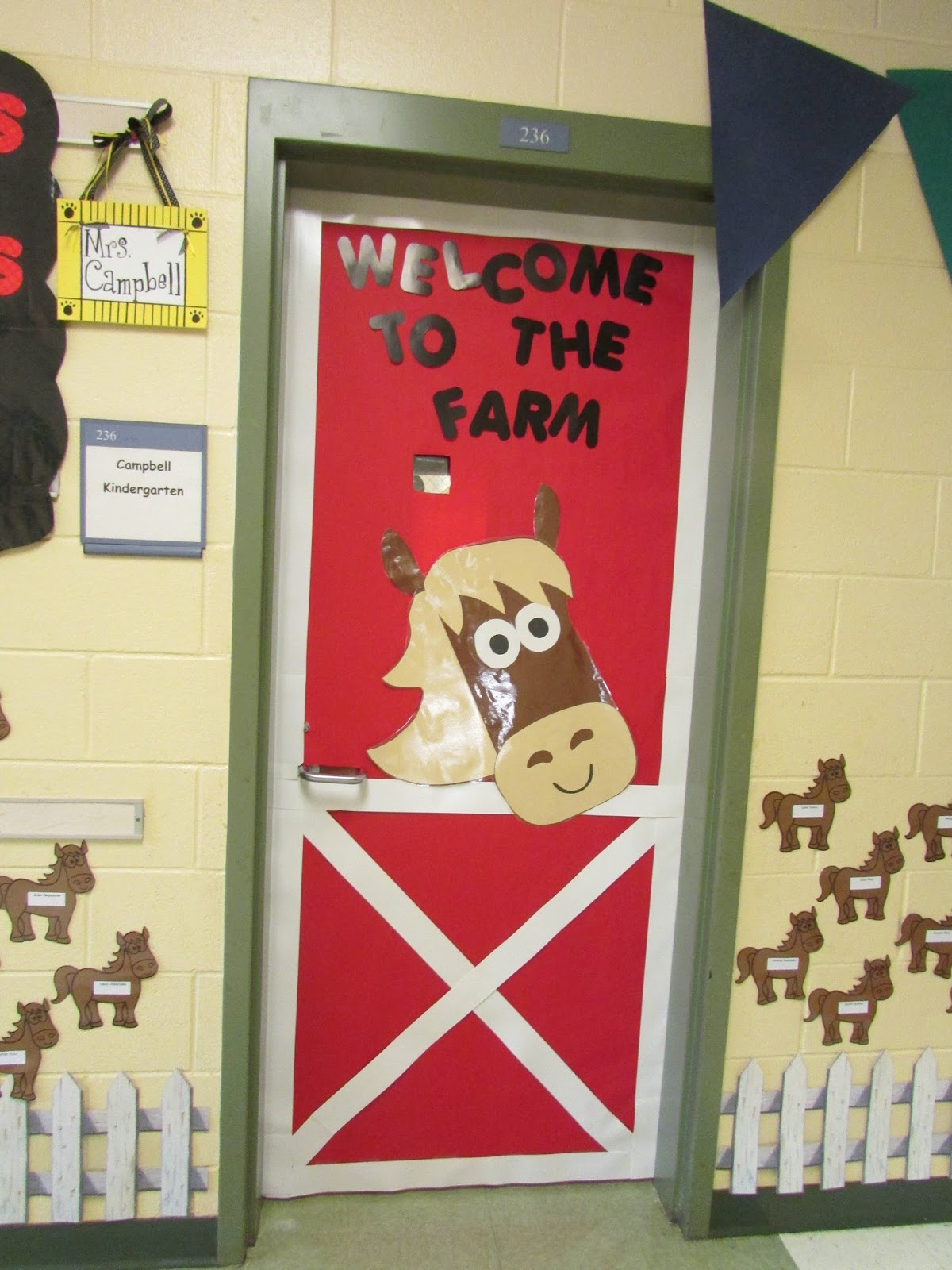 the monster and the farm peace love and first grade On farm door ideas