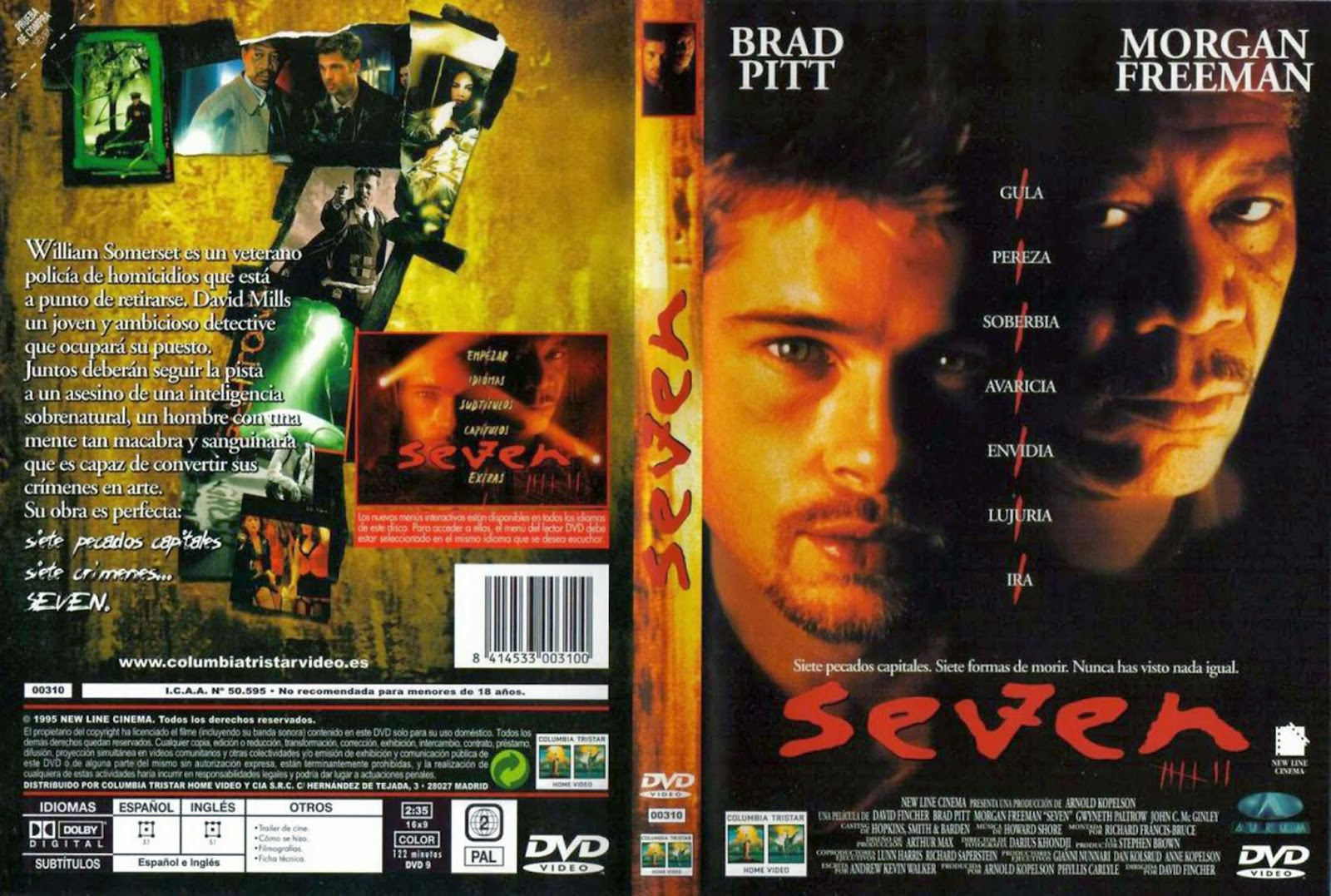 Seven (Se7en) DVD
