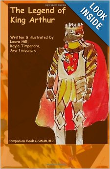 The Legent of King Arthur, The Werewolf Companion Book.
