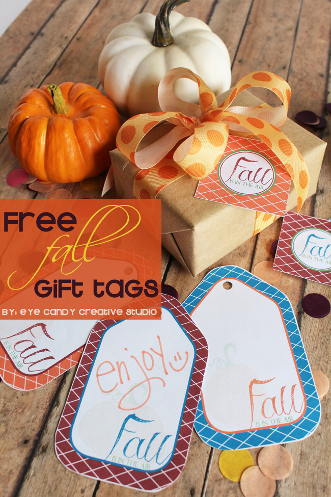 freebie, fall gift tags, pumpkin, fall gift giving, fall is in the air, free download