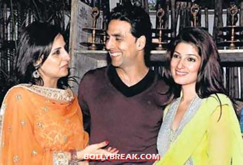 Twinkle Khanna and sister - (5) - Bollywood stars and their siblings