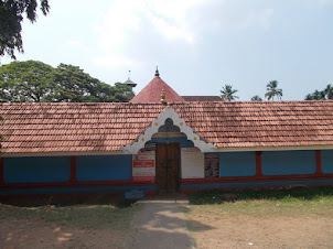 Pazhayannur Bhagavati, temple inside  Mattancherry Palace (Dutch Palace) Complex.