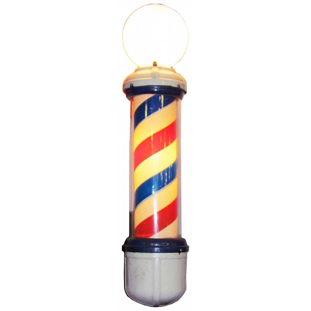 Antique barber shop sign - Antique Barber Poles For Sale