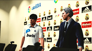 Download Real Madrid Press Conference PES 2013