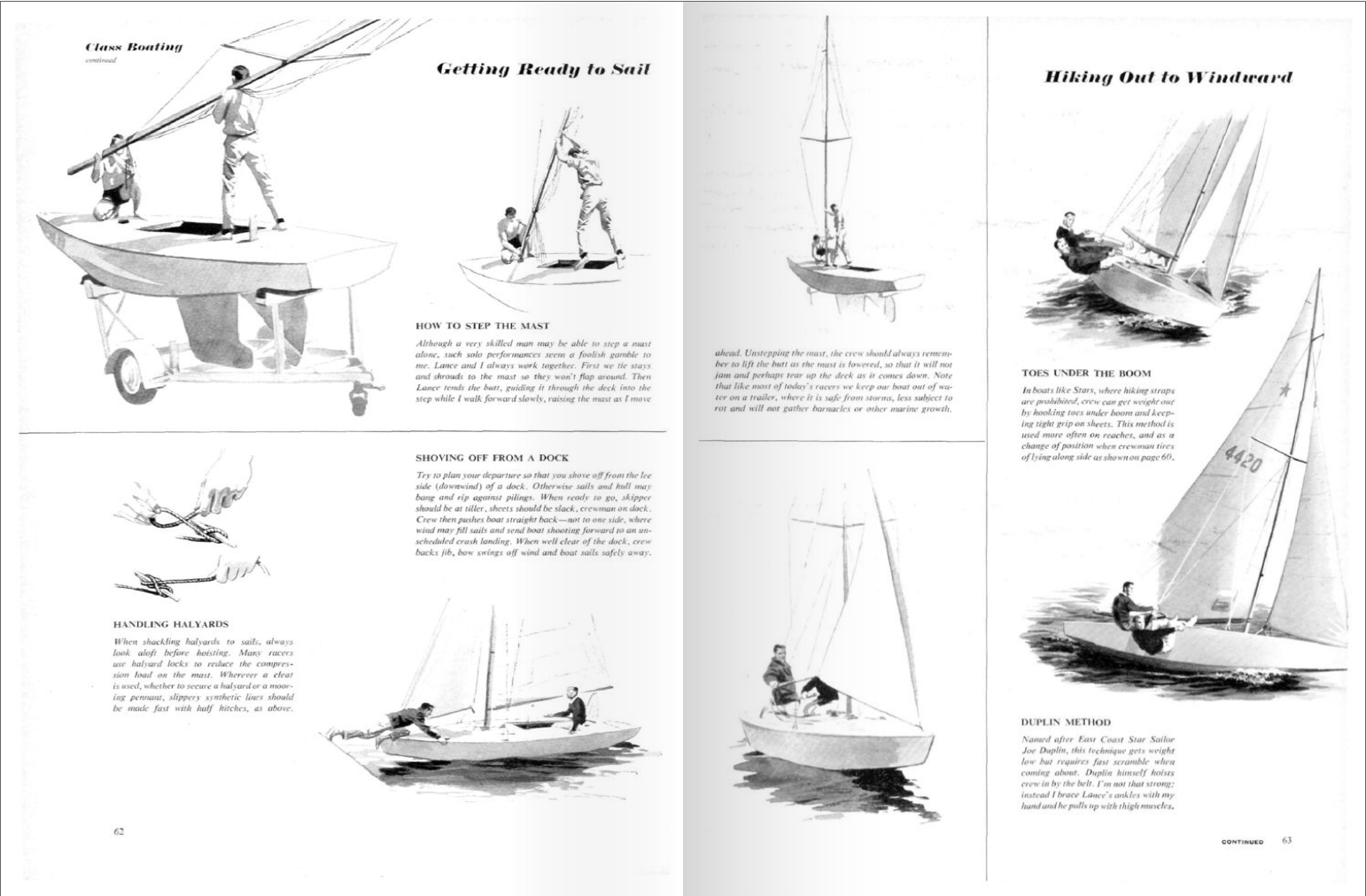 the spirit of classic racing yachts