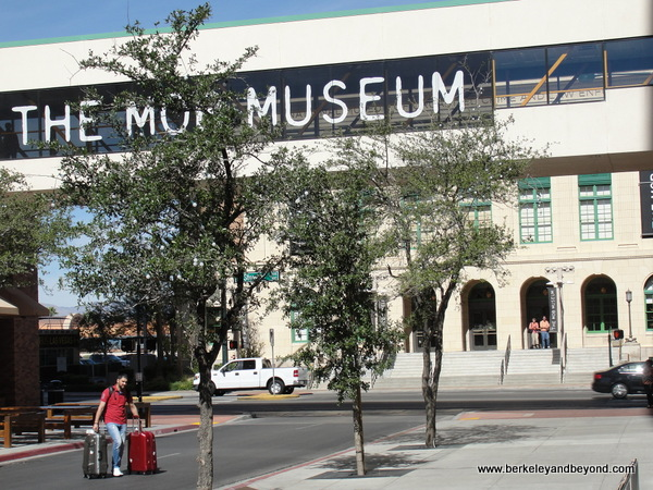 exterior of The Mob Museum in Las Vegas, Nevada