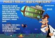 Phineas y Ferb Abajo el Perryscopio disney