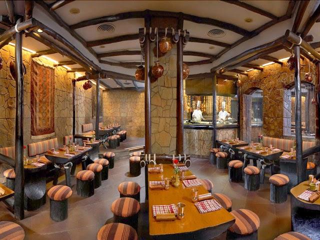 Bukhara Restaurant in ITC Maurya Sheraton Hotel, Delhi
