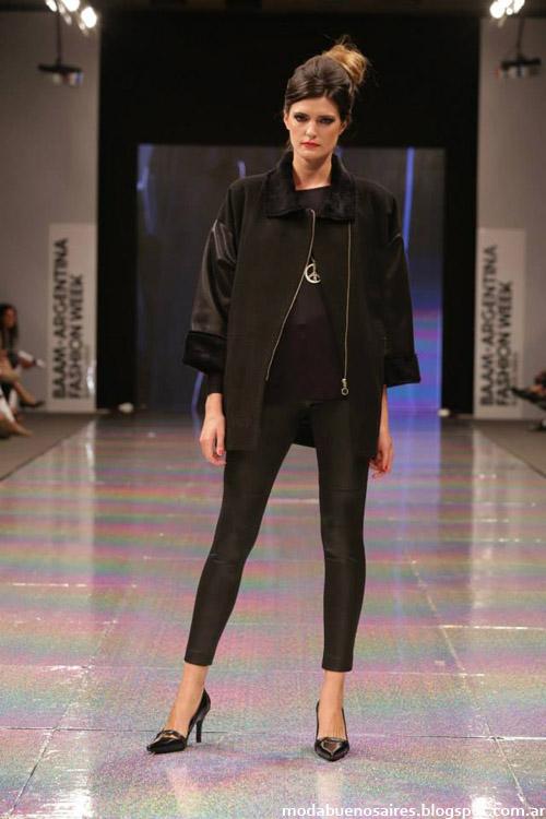 Adriana Costantini otoño invierno 2014 tapados y abrigos de moda invierno 2014.