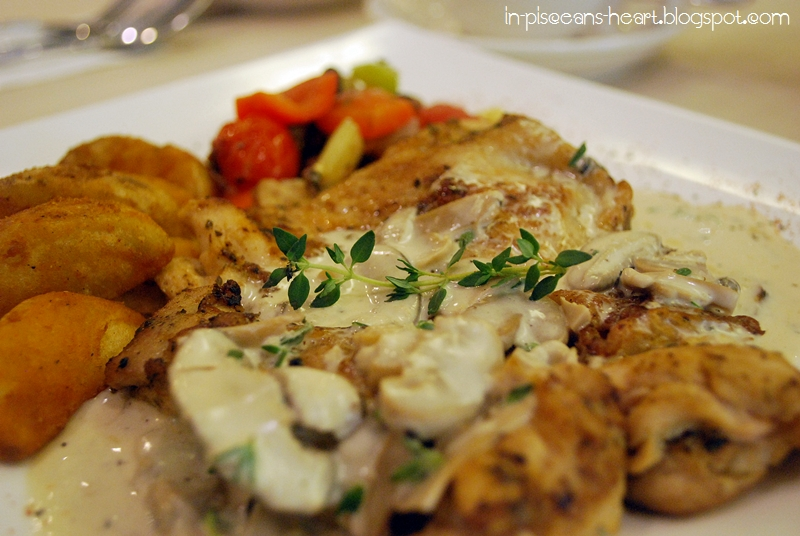 lemon chicken with lemon mushroom sauce mushroom sauce web baked lemon ...