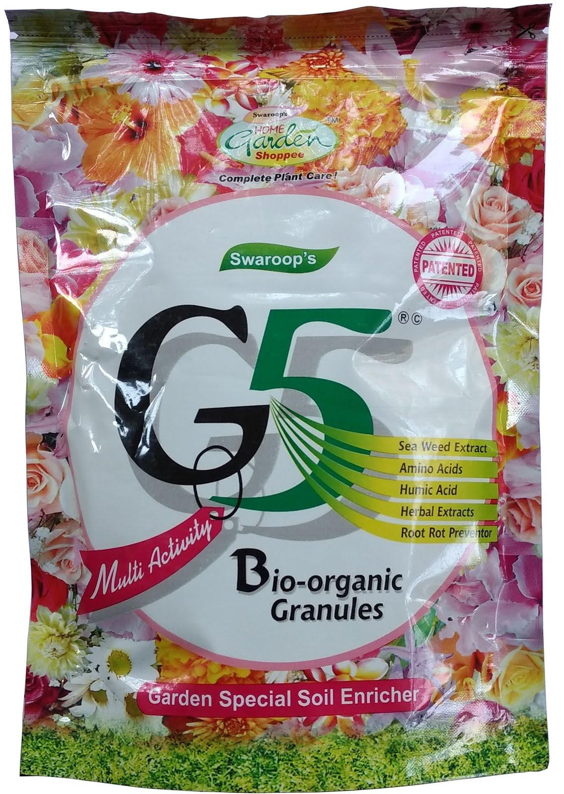 G5 Granules - Organic Manure