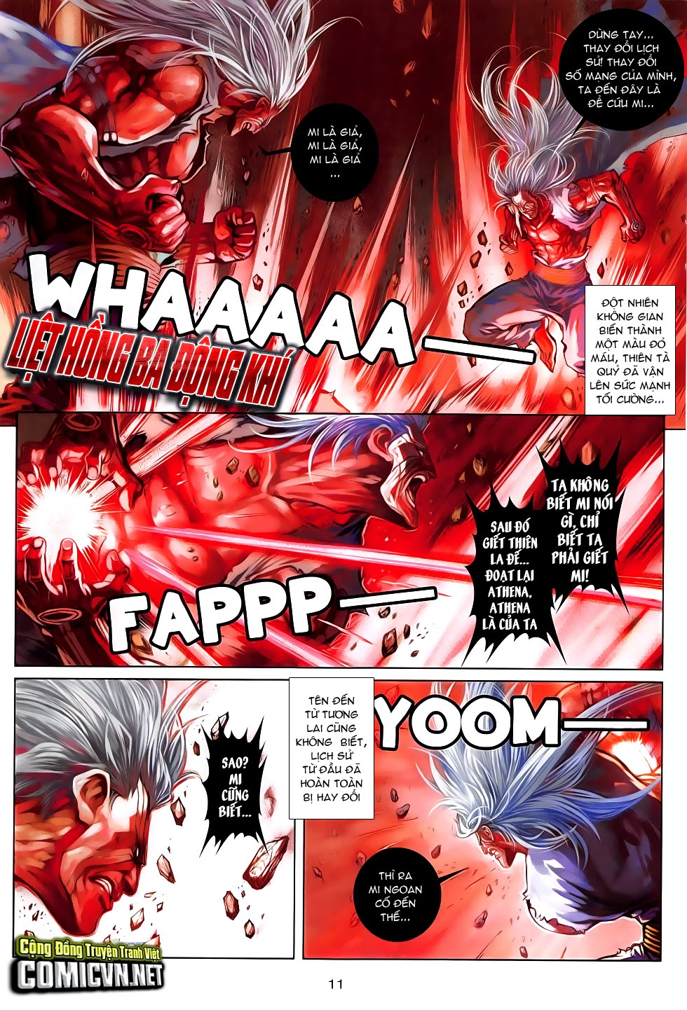 Ba Động Quyền Z Hadouken Zero chap 15 - Trang 11