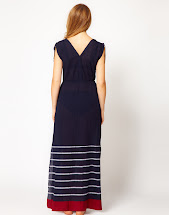 French Connection Maxi Dress with Stripes