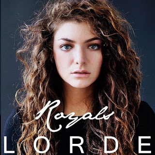 Royals lyrics by Lorde artwork