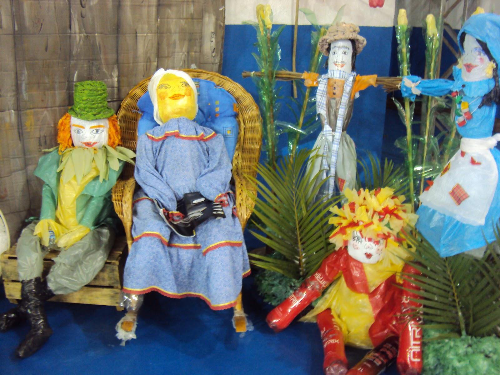 decoracao festa caipira:Lú Art Mania: Decoração sustentável para Festa Caipira