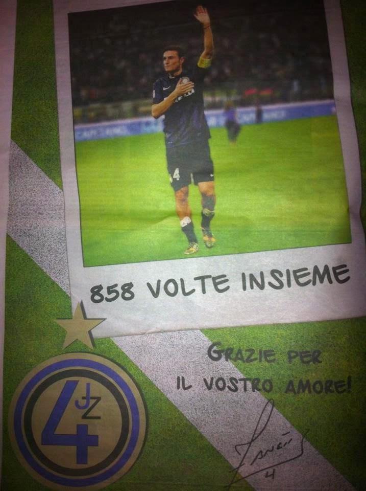 Il Capitano ha comprato una pagina della Gazzetta dello Sport per ringraziare tutti i tifosi