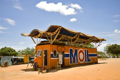 Moil Container Gas Station