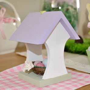 Easter bird houses by Torie Jayne