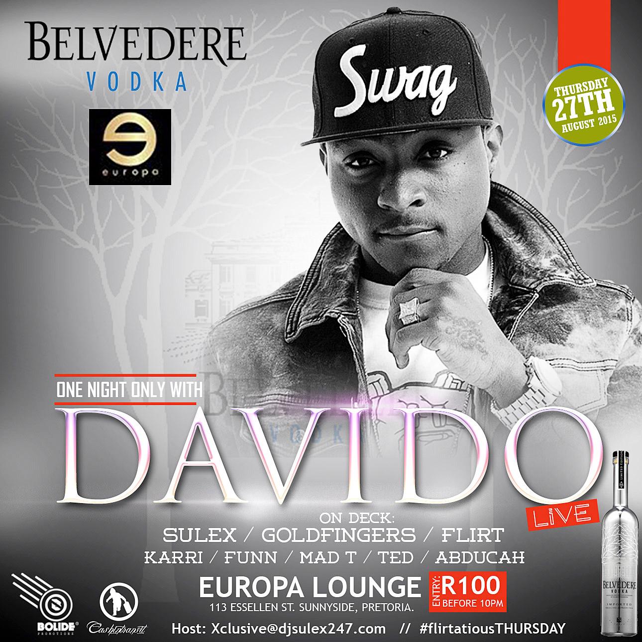DAVIDO LIVE!!