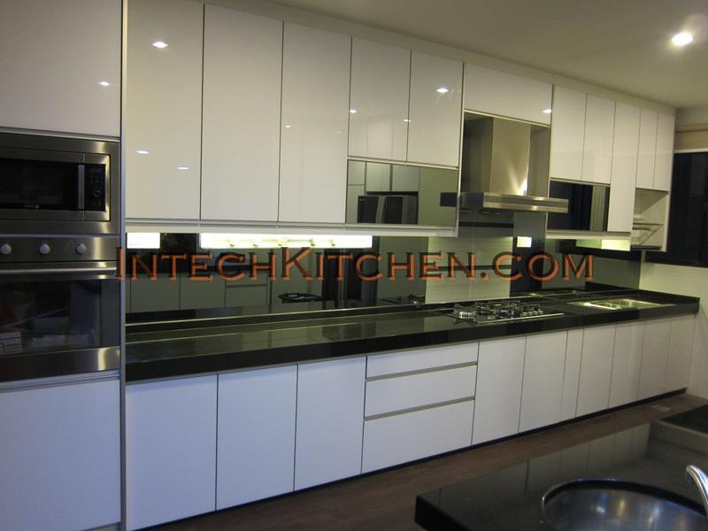 full height 4g door with granite top house at cahaya spk