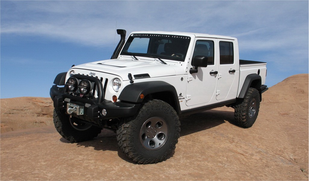modified jeep wrangler jk unlimited aev double cabin