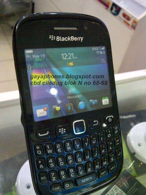 Blackberry Curve 9220 Davis black