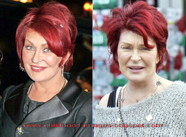 Pity, that Sharon osbourne without makeup