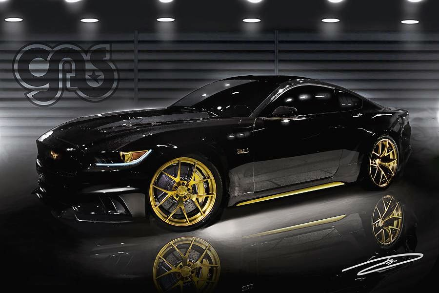 Ford Mustang (Galpin Auto Sports) (2015) Front Side