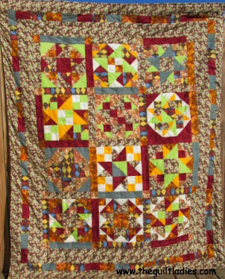 One Quilt Block Twelve Different Ways Quilt Pattern