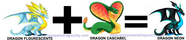 como sacar el dragon neon en dragon city combinacion 3