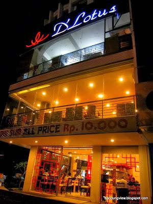 D'lotus restaurant jl. abdul rivai