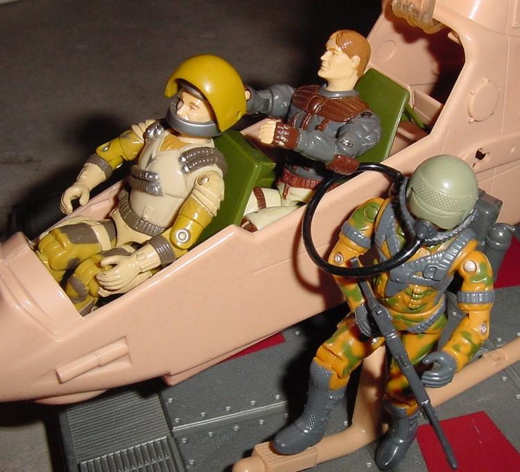 1990 Sky Patrol Airwave, Updraft, Freefall, 2000 Locust