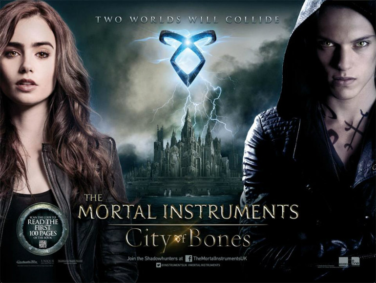 City of Bones Mortal Instruments Movie