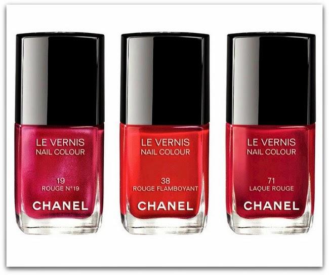 Chanel Collection les Rouges Culte Le Vernis Nail Polish