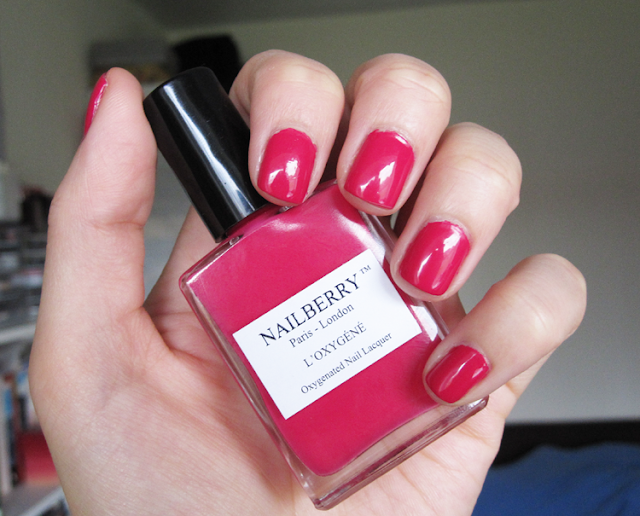 Nailberry Summer Brights L'Oxygene Collection 2015 - Pinkberry
