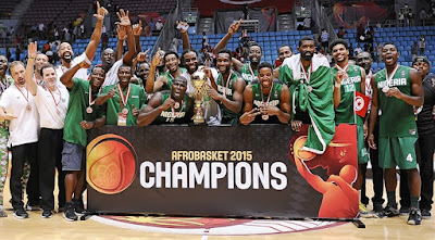 Nigeria beat Angola in Afrobasket 2015 final