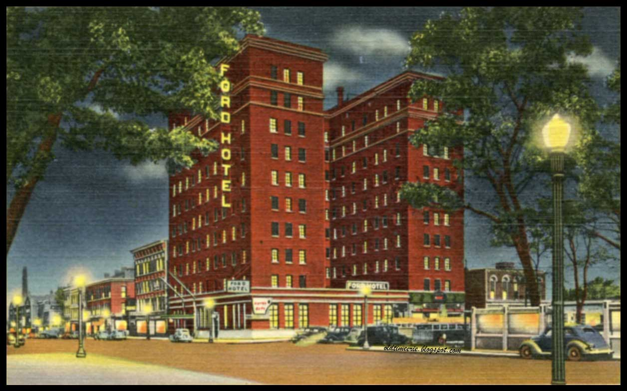 old time erie ford hotel now richford arms on state street in erie pa. Black Bedroom Furniture Sets. Home Design Ideas