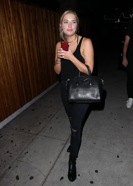 Actress, Model @ Ashley Benson - at The Nice Guy nightclub in West Hollywood