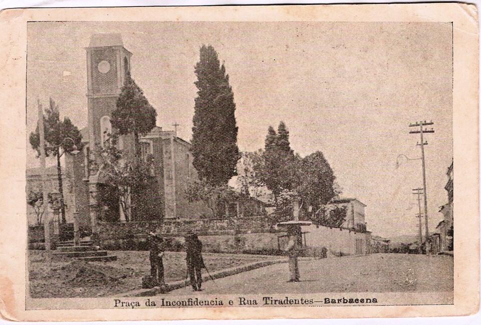 Igreja e Praça do Rosário de Barbacena