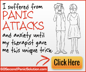 60 Second Solution to Panic Attacks