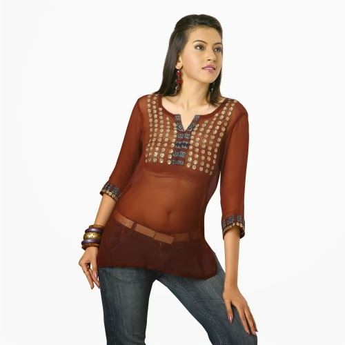 Hot-kurti-style-for-girls