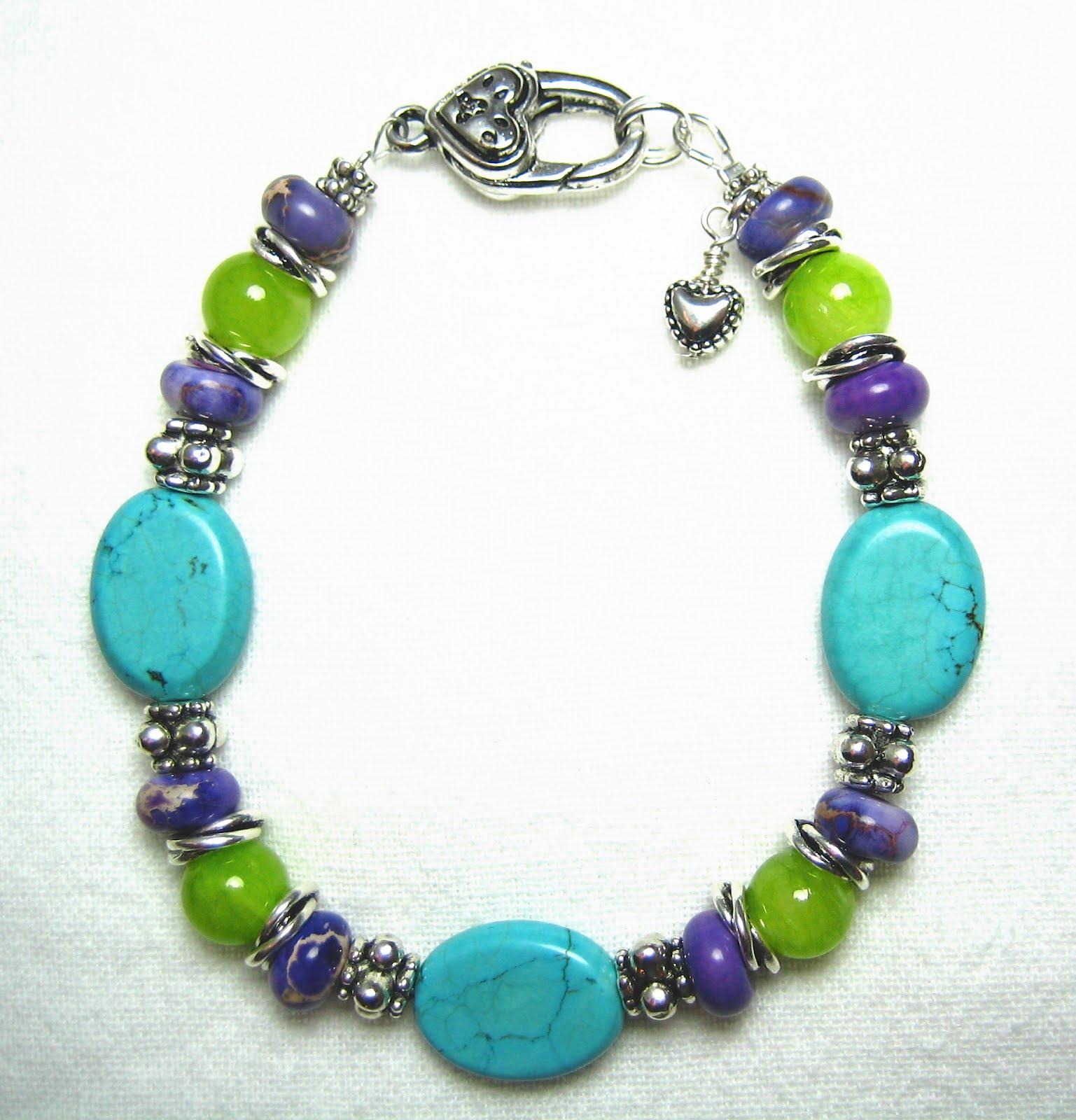 jewelry design shop purple turquoise green