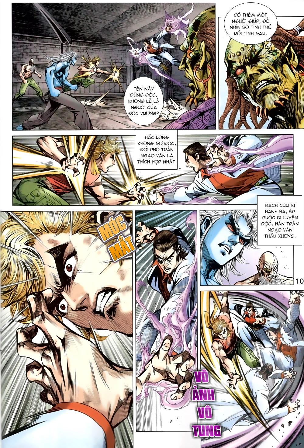 Tân Tác Long Hổ Môn chap 819 Trang 10 - Mangak.info