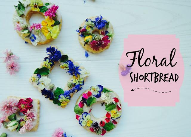 Floral Shortbread