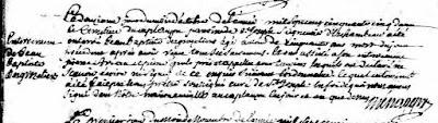 Jean-Baptiste Desgroseilliers burial record